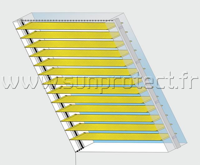 choix d 39 un store conseils sun protect optimisation de vitrage. Black Bedroom Furniture Sets. Home Design Ideas